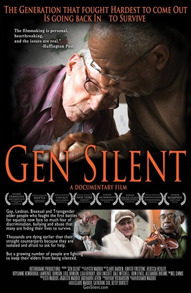 Generation Silent, A movie about LGBT seniors and the difficult choices they make, at Framingham State College, June 13th, 7PM