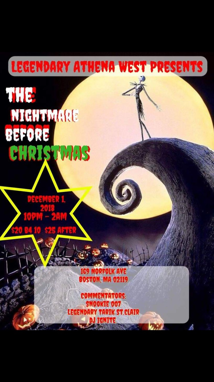 Nightmare Before Christmas World AIDs Day Ball, December 1st, Boston ...